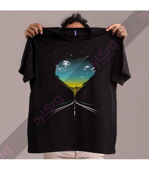 تی شرت جاده زیبا / TA145