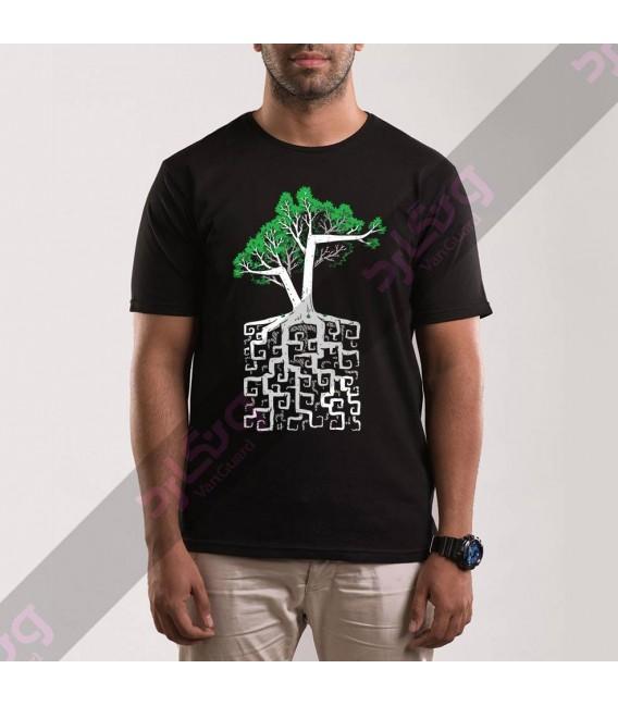 تی شرت درخت و ریشه / TA162