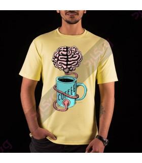 تی شرت قهوه / TF101