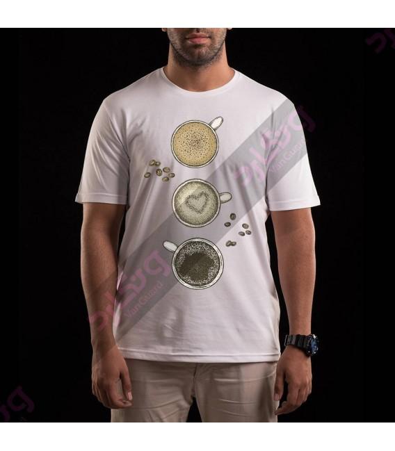 تی شرت قهوه / TF103