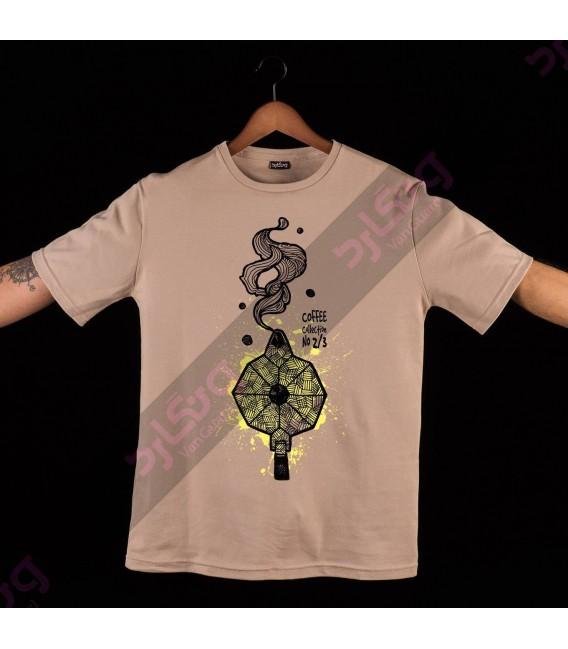 تی شرت قهوه / TF102