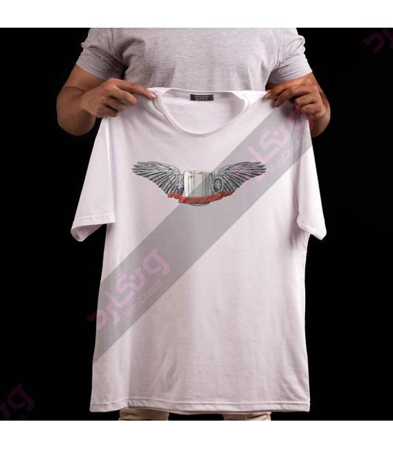 تی شرت قهوه پرنده / TF100