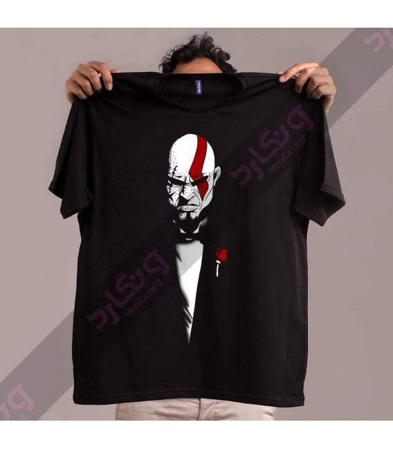 تی شرت God of War / کد TG136