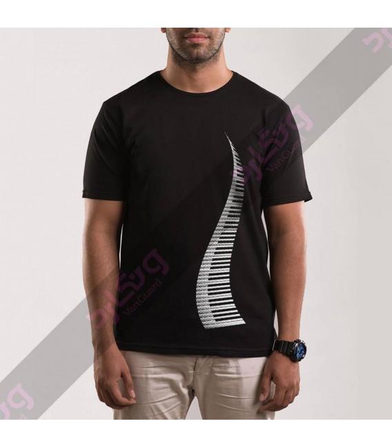 تی شرت پیانو