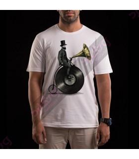 تی شرت نواختن موسیقی / TM129
