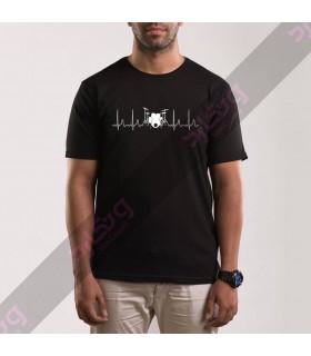 تی شرت ضربان قلب درامر / TM133