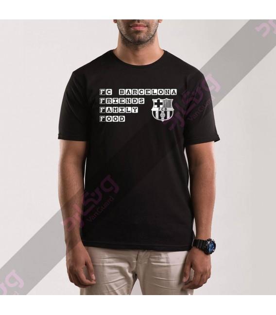 تی شرت بارسلونا / TS204