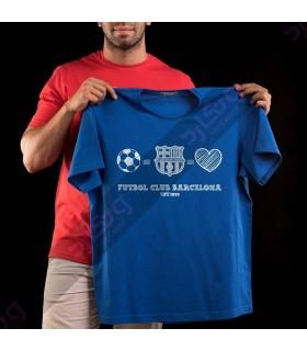 تی شرت بارسلونا / TS208