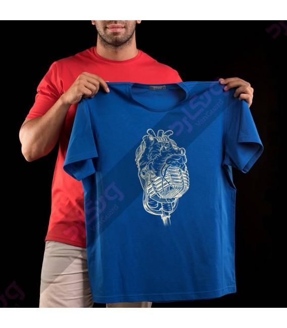 تی شرت میکروفن و قلب / TM135