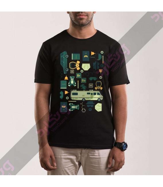 تی شرت سریال بریکینگ بد / TT307