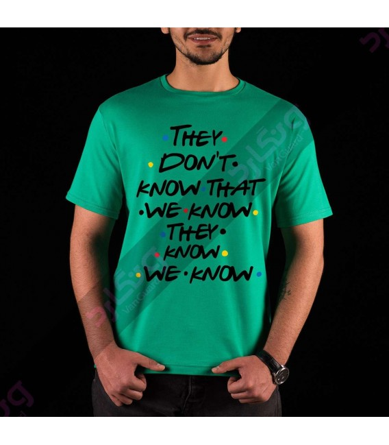 تی شرت سریال فرندز / TT147