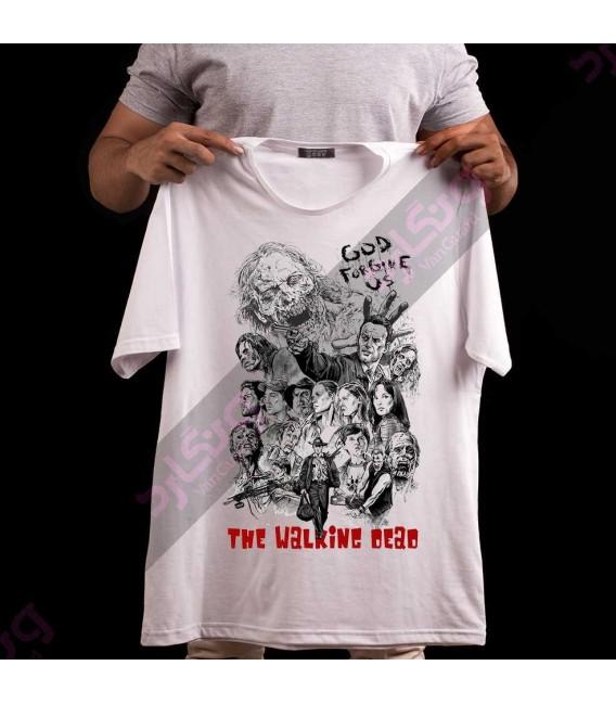 تی شرت سریال مردگان متحرک / TT151