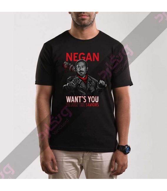 تی شرت سریال مردگان متحرک / TT155
