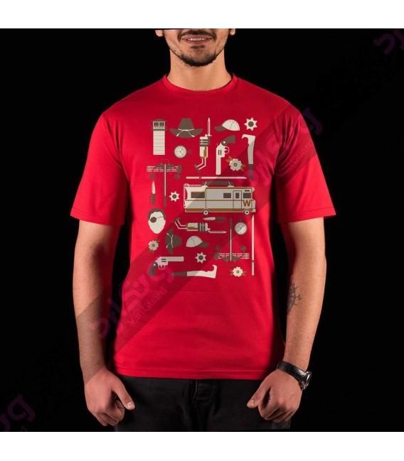 تی شرت سریال مردگان متحرک / TT157