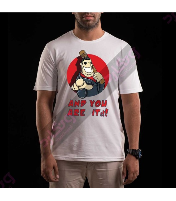 تی شرت سریال مردگان متحرک / TT163