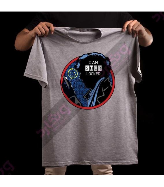 تی شرت سریال شرلوک هولمز / TT201