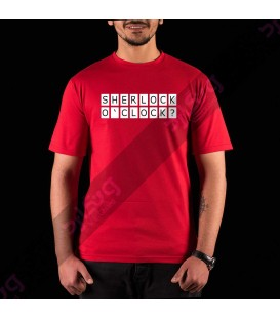 تی شرت سریال شرلوک هولمز / TT204