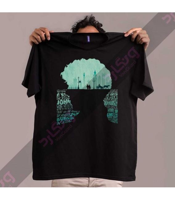 تی شرت سریال شرلوک هولمز / TT206