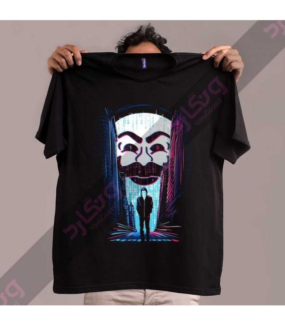 تی شرت سریال آقای روبات / TT322