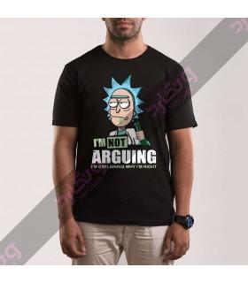 تی شرت TT366 / Rick and Morty