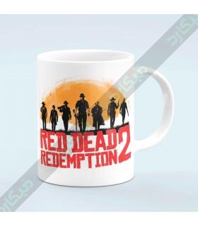 ماگ MG 127 / Red dead redemption