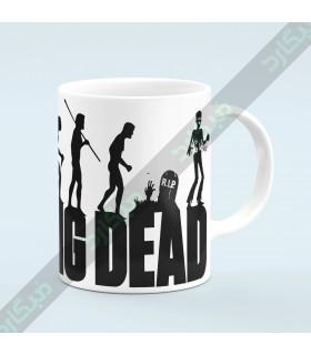 ماگ سریال مردگان متحرک / MT140