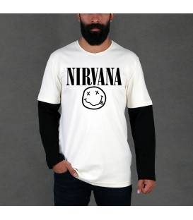 تیشرت آستین بلند Nirvana