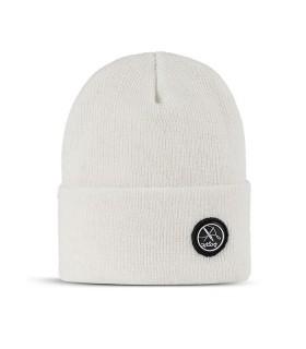 کلاه بافت سفید