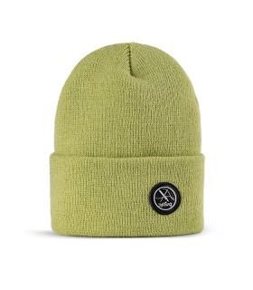 کلاه بافت سبز