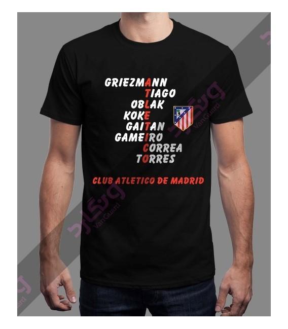 تی شرت اتلتیکو مادرید / TT300